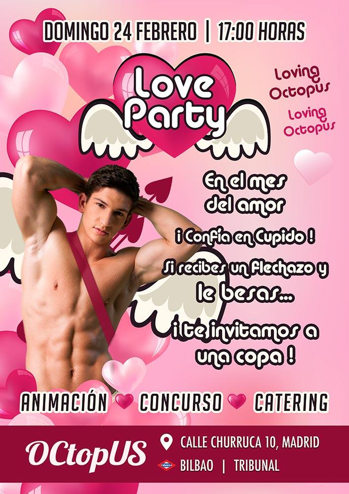 sauna octopus celebra fiestas para osos gays como la love party