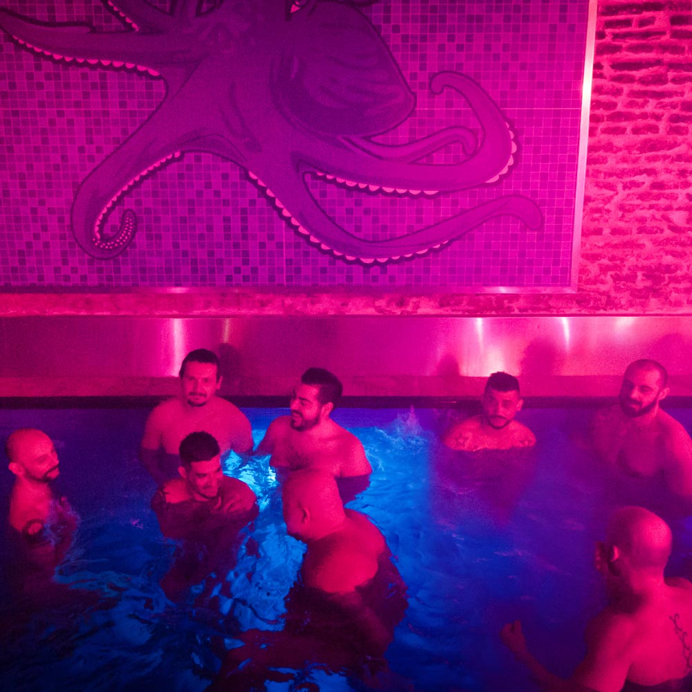 Bear Gay Maduros sauna octopus - the gay bear sauna in madrid - sauna bay