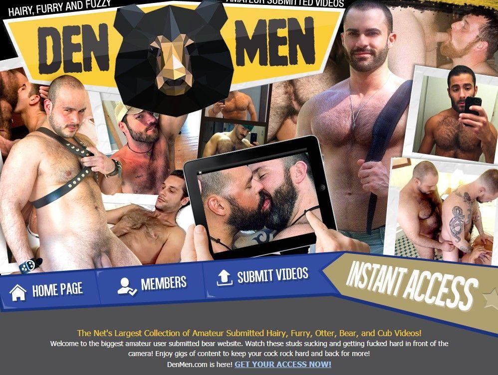 Los 10 mejores sitios porno de osos gay